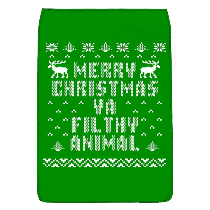 Ugly Christmas Ya Filthy Animal Flap Covers (L)