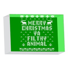 Ugly Christmas Ya Filthy Animal 4 x 6  Acrylic Photo Blocks
