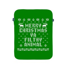 Ugly Christmas Ya Filthy Animal Apple Ipad 2/3/4 Protective Soft Cases