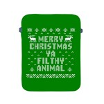 Ugly Christmas Ya Filthy Animal Apple iPad 2/3/4 Protective Soft Cases Front