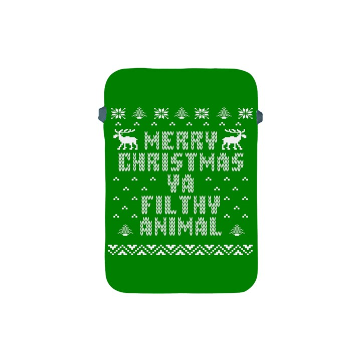 Ugly Christmas Ya Filthy Animal Apple iPad Mini Protective Soft Cases