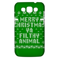 Ugly Christmas Ya Filthy Animal Samsung Galaxy Win I8550 Hardshell Case