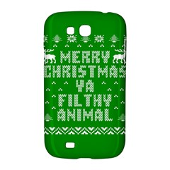 Ugly Christmas Ya Filthy Animal Samsung Galaxy Grand GT-I9128 Hardshell Case