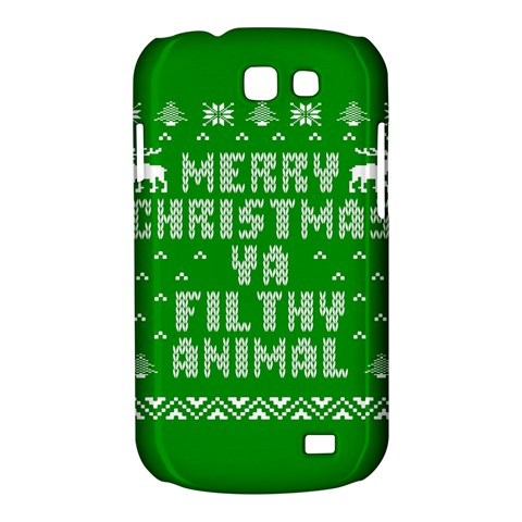 Ugly Christmas Ya Filthy Animal Samsung Galaxy Express I8730 Hardshell Case