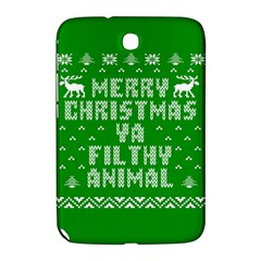 Ugly Christmas Ya Filthy Animal Samsung Galaxy Note 8 0 N5100 Hardshell Case