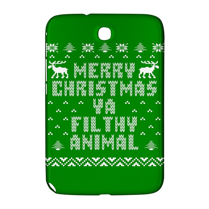 Ugly Christmas Ya Filthy Animal Samsung Galaxy Note 8.0 N5100 Hardshell Case