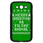 Ugly Christmas Ya Filthy Animal Samsung Galaxy Grand DUOS I9082 Case (Black) Front