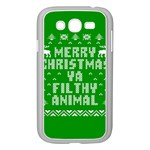 Ugly Christmas Ya Filthy Animal Samsung Galaxy Grand DUOS I9082 Case (White) Front