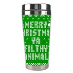 Ugly Christmas Ya Filthy Animal Stainless Steel Travel Tumblers Center