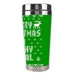 Ugly Christmas Ya Filthy Animal Stainless Steel Travel Tumblers Right