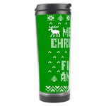 Ugly Christmas Ya Filthy Animal Travel Tumbler Left