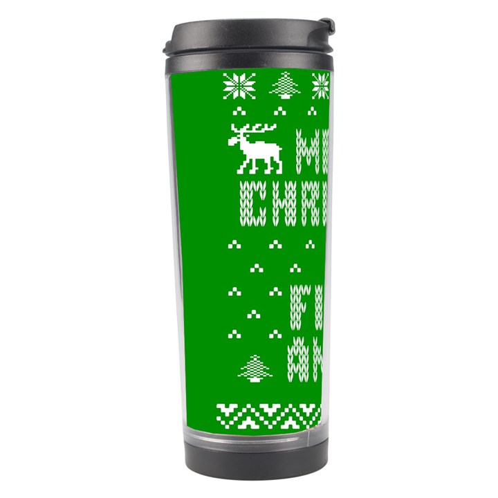Ugly Christmas Ya Filthy Animal Travel Tumbler