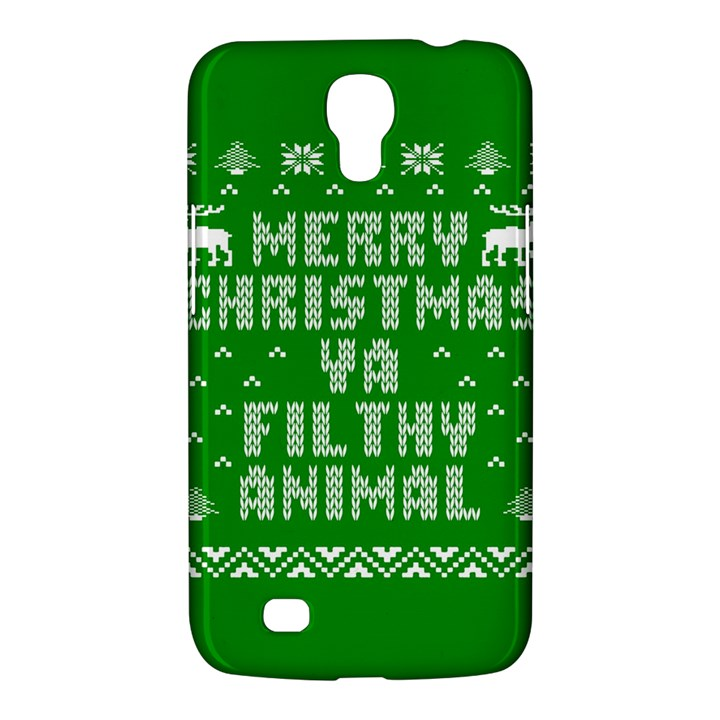 Ugly Christmas Ya Filthy Animal Samsung Galaxy Mega 6.3  I9200 Hardshell Case