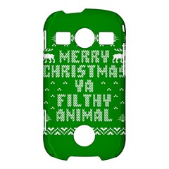 Ugly Christmas Ya Filthy Animal Samsung Galaxy S7710 Xcover 2 Hardshell Case