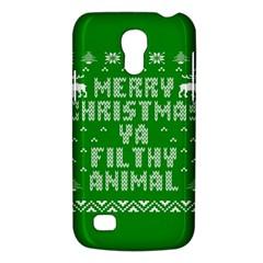 Ugly Christmas Ya Filthy Animal Galaxy S4 Mini