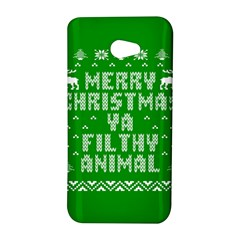 Ugly Christmas Ya Filthy Animal HTC Butterfly S/HTC 9060 Hardshell Case