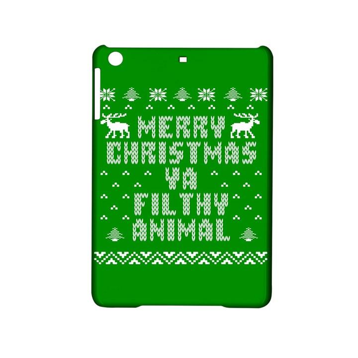 Ugly Christmas Ya Filthy Animal iPad Mini 2 Hardshell Cases