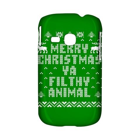 Ugly Christmas Ya Filthy Animal Samsung Galaxy S6310 Hardshell Case