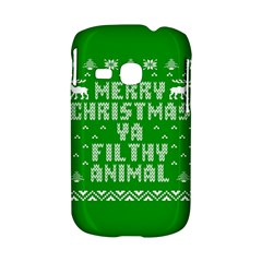 Ugly Christmas Ya Filthy Animal Samsung Galaxy S6310 Hardshell Case