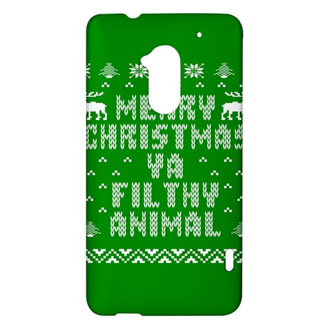 Ugly Christmas Ya Filthy Animal HTC One Max (T6) Hardshell Case