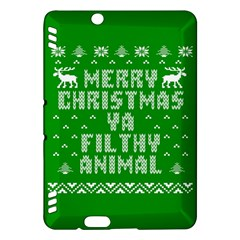 Ugly Christmas Ya Filthy Animal Kindle Fire Hdx Hardshell Case