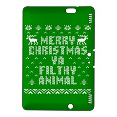 Ugly Christmas Ya Filthy Animal Kindle Fire HDX 8.9  Hardshell Case