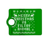 Ugly Christmas Ya Filthy Animal Kindle Fire HD (2013) Flip 360 Case Front