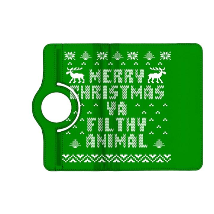 Ugly Christmas Ya Filthy Animal Kindle Fire HD (2013) Flip 360 Case