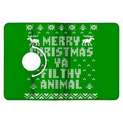 Ugly Christmas Ya Filthy Animal Kindle Fire HDX Flip 360 Case