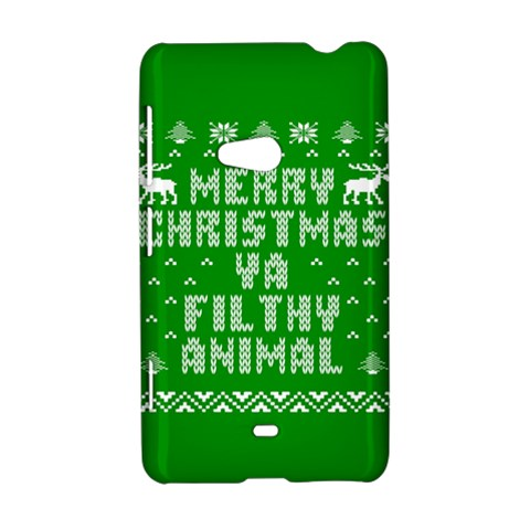 Ugly Christmas Ya Filthy Animal Nokia Lumia 625