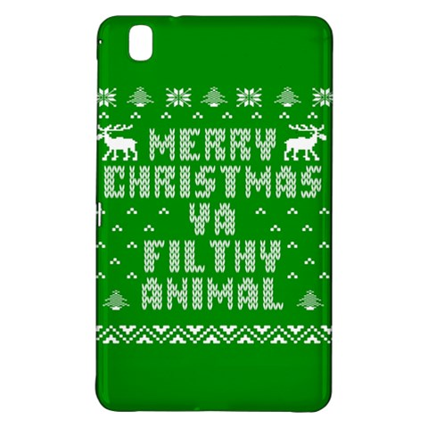 Ugly Christmas Ya Filthy Animal Samsung Galaxy Tab Pro 8.4 Hardshell Case