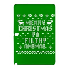 Ugly Christmas Ya Filthy Animal Samsung Galaxy Tab Pro 12.2 Hardshell Case
