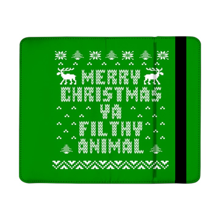 Ugly Christmas Ya Filthy Animal Samsung Galaxy Tab Pro 8.4  Flip Case