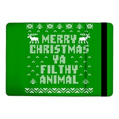 Ugly Christmas Ya Filthy Animal Samsung Galaxy Tab Pro 10.1  Flip Case