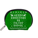 Ugly Christmas Ya Filthy Animal Accessory Pouches (Small)  Front