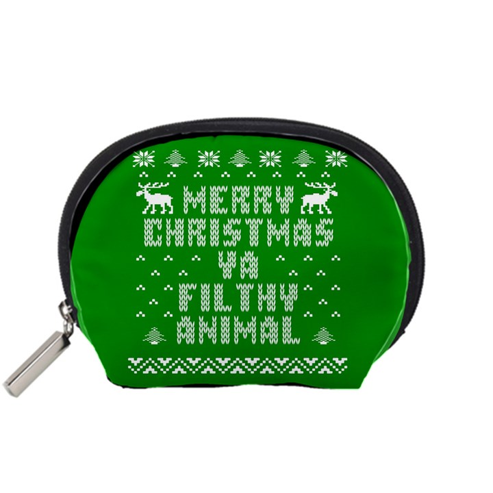 Ugly Christmas Ya Filthy Animal Accessory Pouches (Small)
