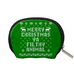 Ugly Christmas Ya Filthy Animal Accessory Pouches (Small)  Back