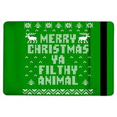 Ugly Christmas Ya Filthy Animal iPad Air Flip