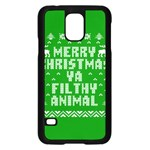 Ugly Christmas Ya Filthy Animal Samsung Galaxy S5 Case (Black) Front