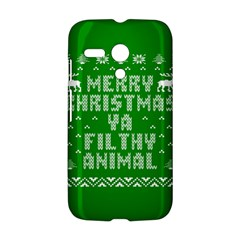 Ugly Christmas Ya Filthy Animal Motorola Moto G