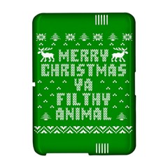 Ugly Christmas Ya Filthy Animal Amazon Kindle Fire (2012) Hardshell Case