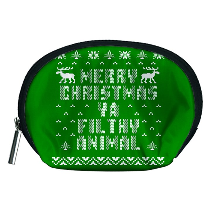 Ugly Christmas Ya Filthy Animal Accessory Pouches (Medium)