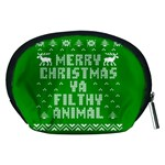 Ugly Christmas Ya Filthy Animal Accessory Pouches (Medium)  Back