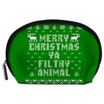 Ugly Christmas Ya Filthy Animal Accessory Pouches (Large)  Front