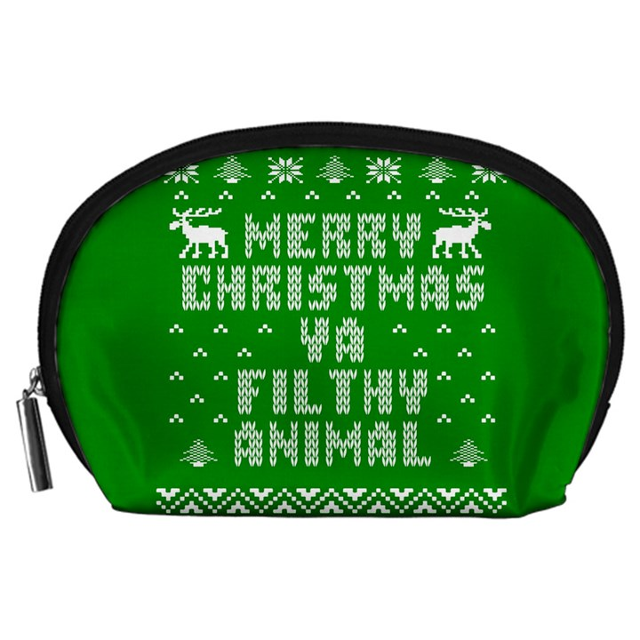 Ugly Christmas Ya Filthy Animal Accessory Pouches (Large)