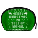 Ugly Christmas Ya Filthy Animal Accessory Pouches (Large)  Back