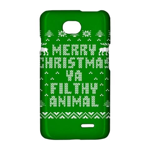 Ugly Christmas Ya Filthy Animal LG Optimus L70