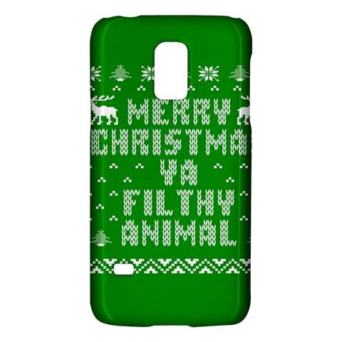 Ugly Christmas Ya Filthy Animal Galaxy S5 Mini