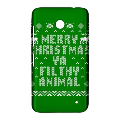 Ugly Christmas Ya Filthy Animal Nokia Lumia 630
