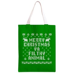 Ugly Christmas Ya Filthy Animal Classic Light Tote Bag